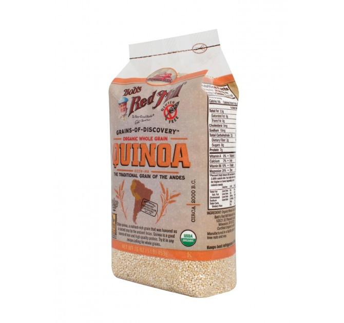 Organic Quinoa Flour  Organic Quinoa Grain Nutritional Powerhouse