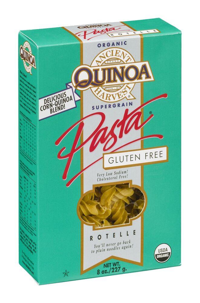Organic Quinoa Pasta  Ancient Harvest Organic Quinoa Rotelle Pasta Gluten Free