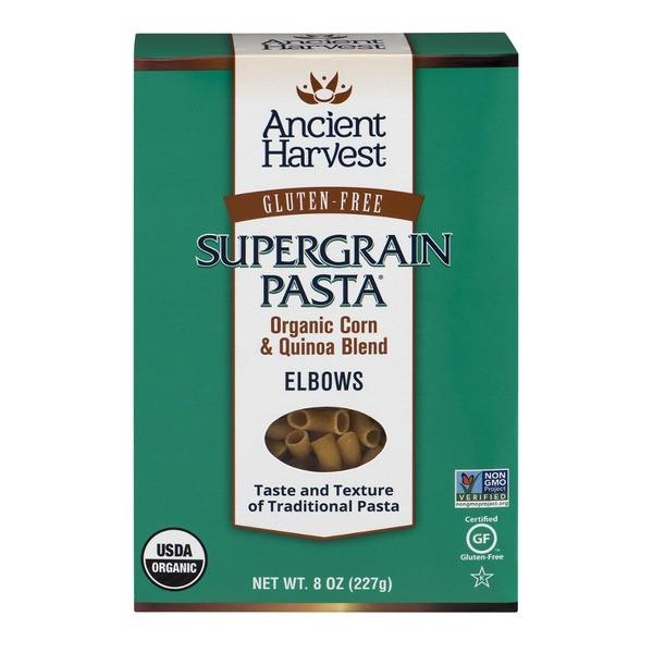 Organic Quinoa Pasta  Ancient Harvest Gluten Free Elbows Organic Supergrain