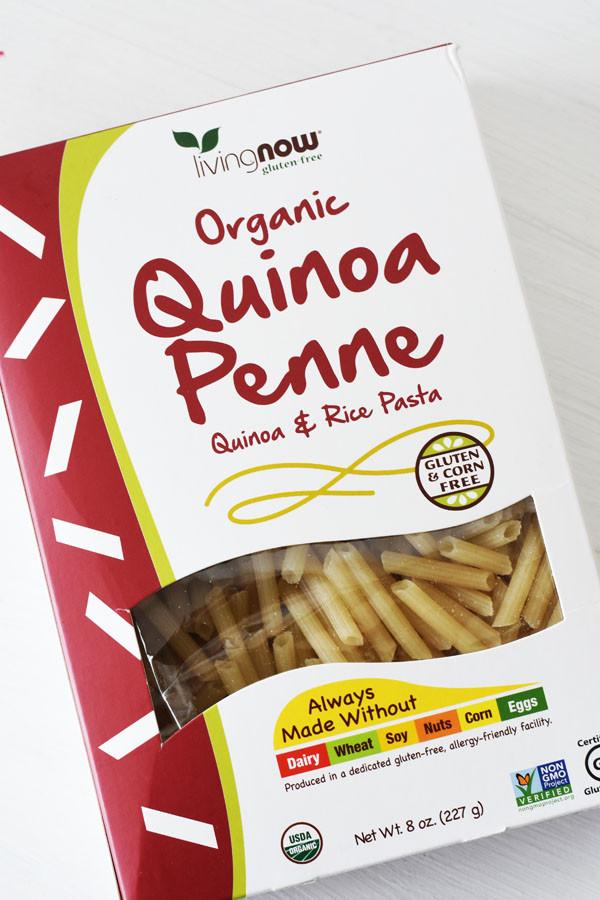 Organic Quinoa Pasta  Ve able Quinoa Pasta Salad