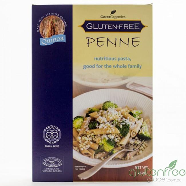 Organic Quinoa Pasta  Gluten Free Grocers Organic Quinoa Penne Pasta Ceres