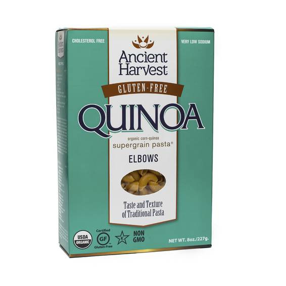 Organic Quinoa Pasta  Organic Quinoa Pasta Elbows by Ancient Harvest Thrive Market