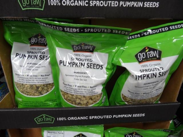 Organic Raw Pumpkin Seeds  Go Raw Organic Sprouted Pumpkin Seeds