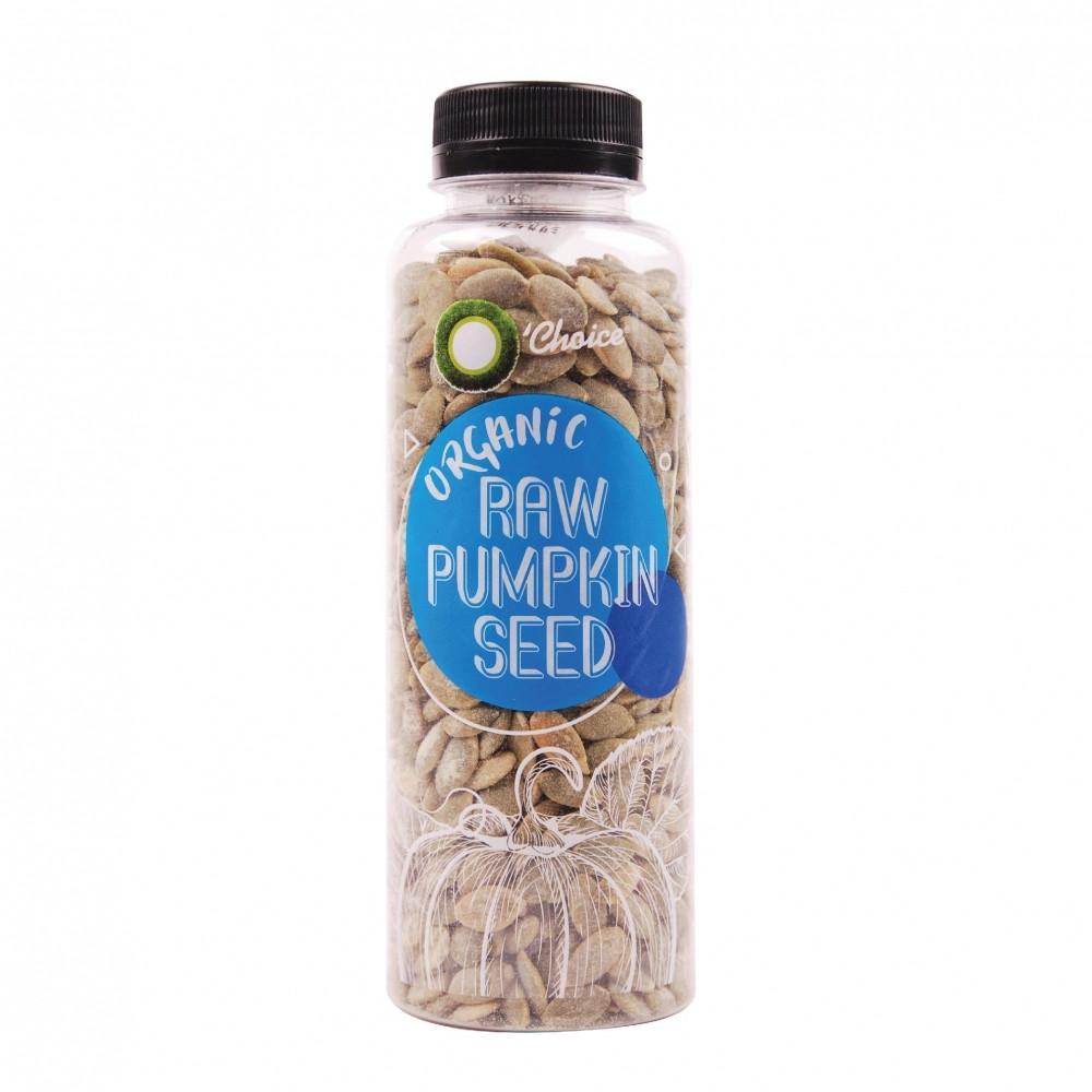 Organic Raw Pumpkin Seeds  O CHOICE Organic Raw Pumpkin Seed 160g
