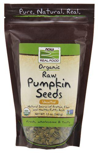 Organic Raw Pumpkin Seeds  Pumpkin Seeds Raw Organic by Now Foods