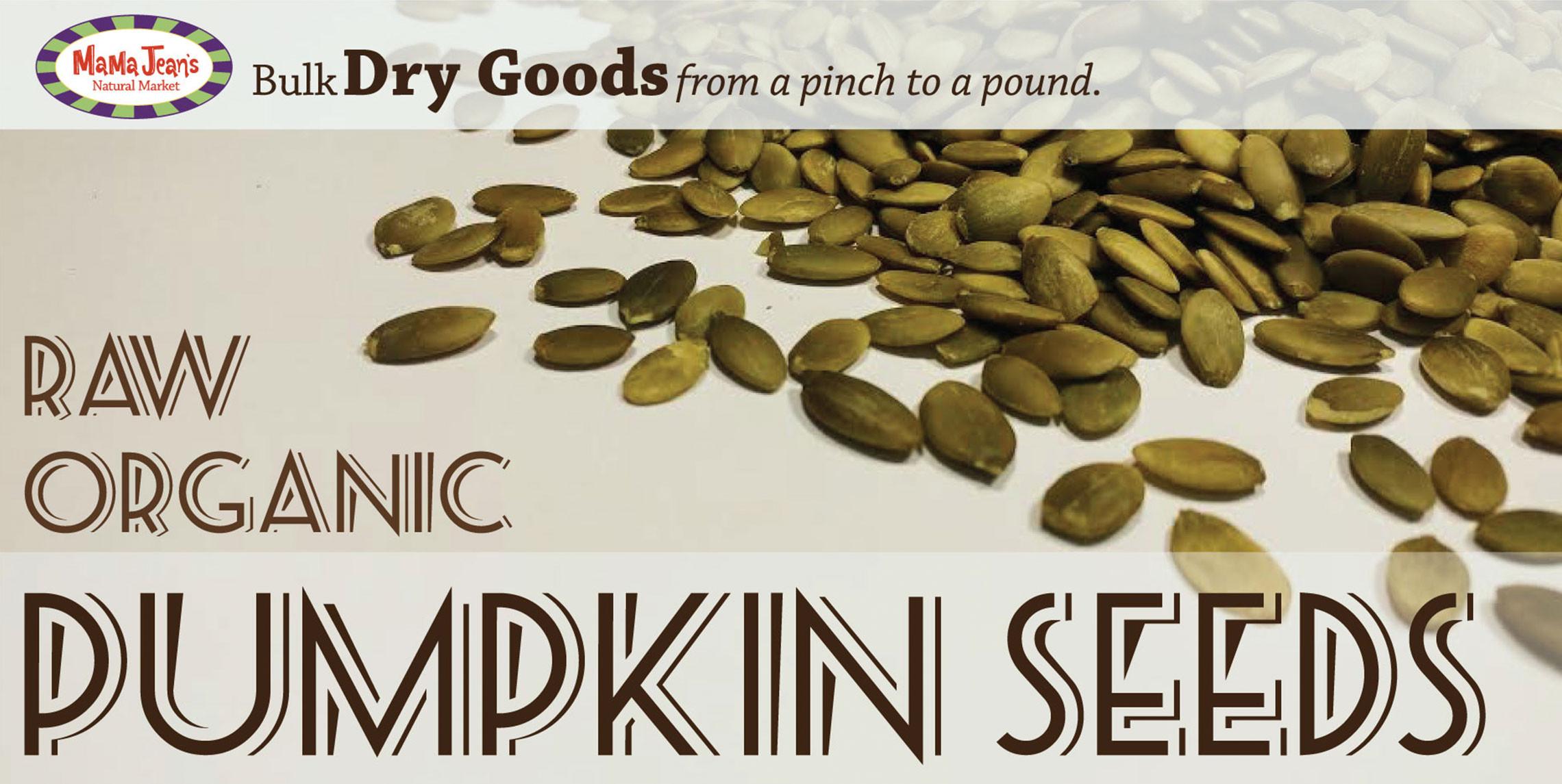 Organic Raw Pumpkin Seeds  Raw Organic Pumpkin Seeds