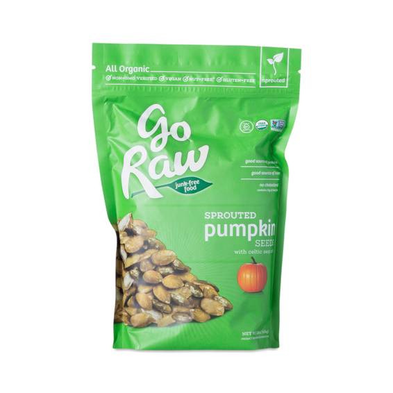 Organic Raw Pumpkin Seeds  Organic Sprouted Pumpkin Seeds by Go Raw Thrive Market