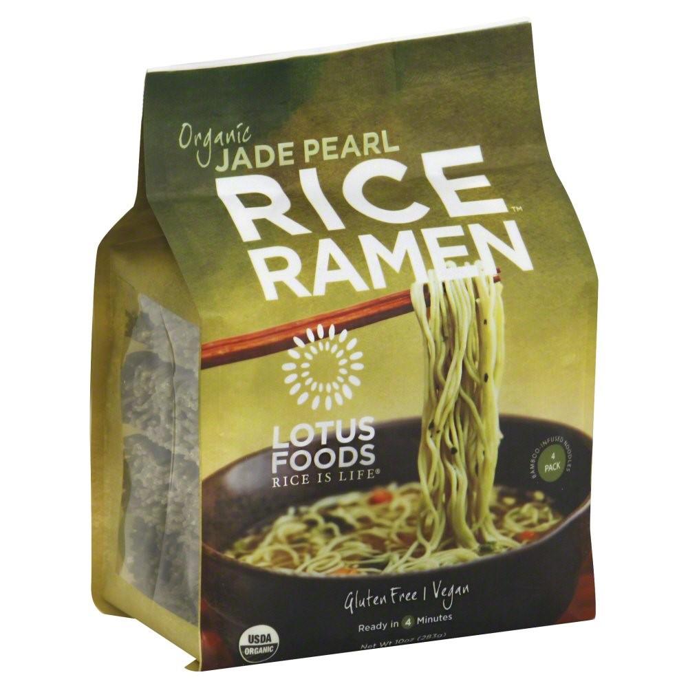 Organic Rice Noodles  Jet Lotus Foods Organic Rice Ramen Noodles Millet