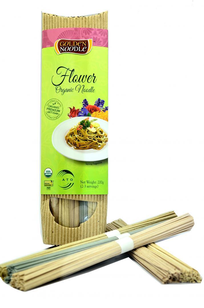 Organic Rice Noodles  Organic Flower Stick Noodle