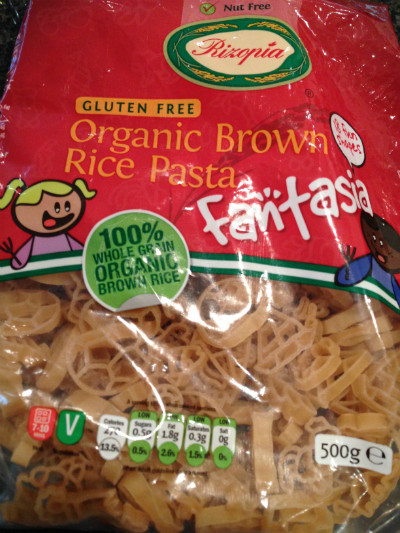 Organic Rice Noodles  My review of Rizopia organic brown rice pasta