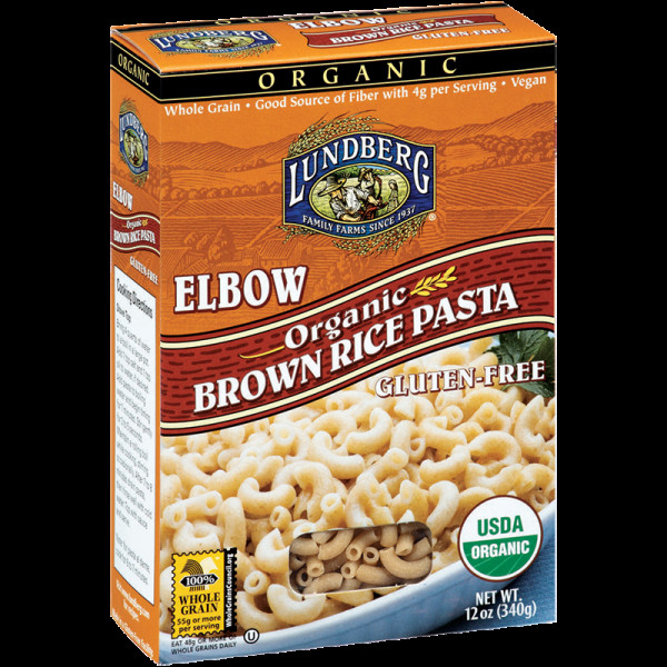 Organic Rice Noodles  ORGANIC BROWN RICE PENNE PASTA