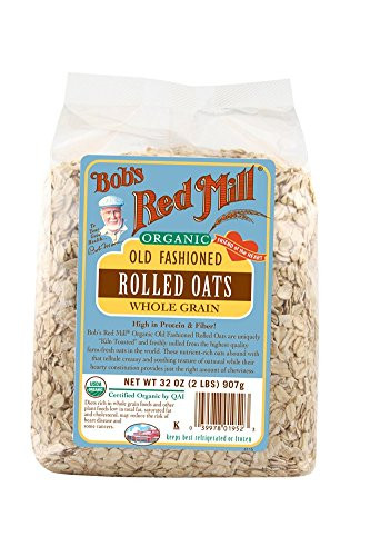 Organic Rolled Oats  High Fiber Snacks Our Top Picks For Snacks on the Go