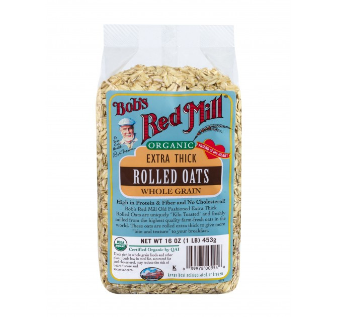Organic Rolled Oats  Organic Thick Rolled Oats