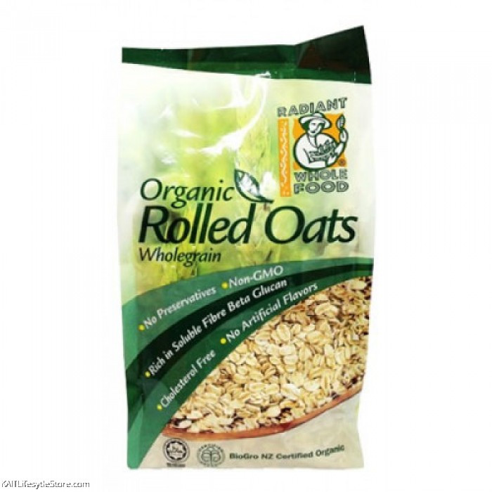 Organic Rolled Oats  Organic Rolled Oats Nutritional Value Nutrition Ftempo