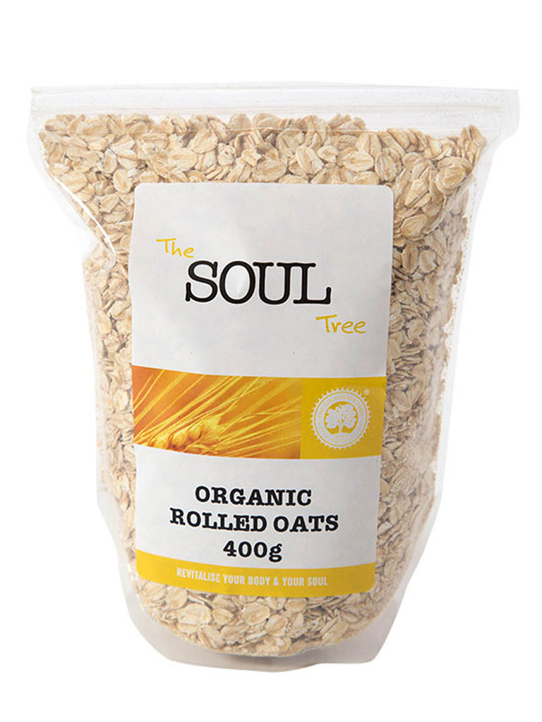 Organic Rolled Oats  Organic – The Chocolate & Soul Tree