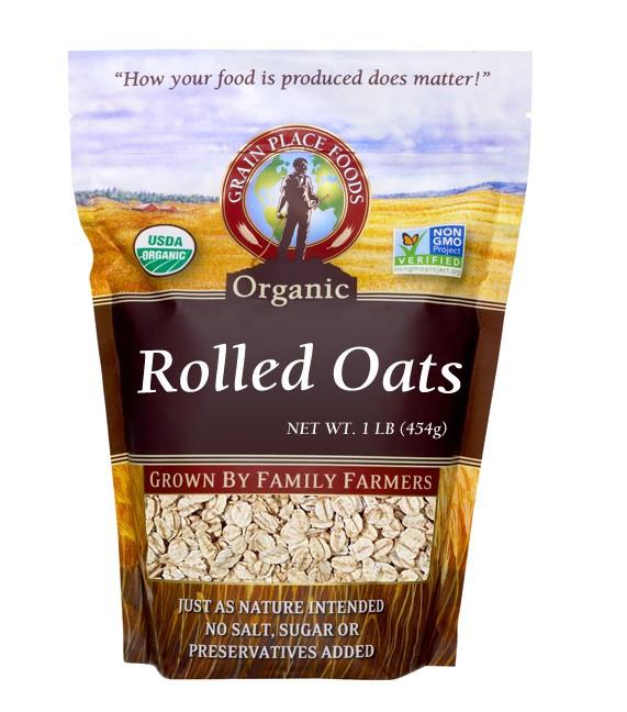 Organic Rolled Oats  Organic Rolled Oats