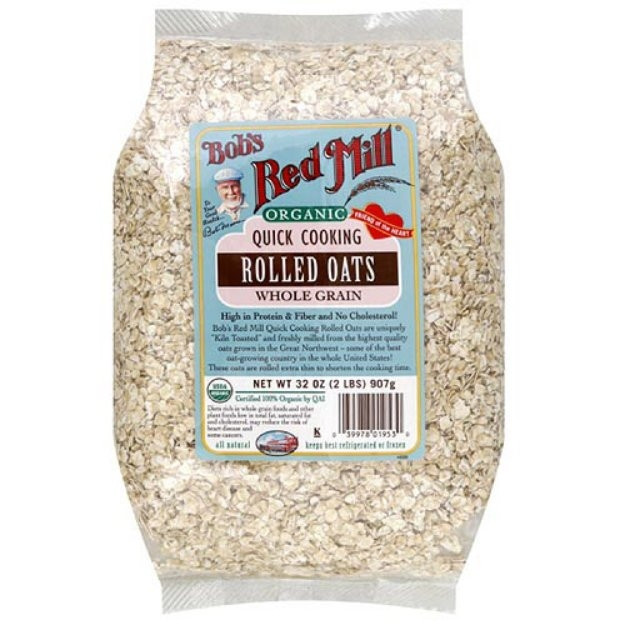Organic Rolled Oats  Bob s Red Mill Organic Rolled Oats Reviews