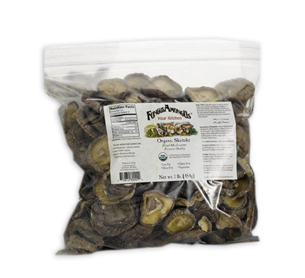 Organic Shiitake Mushrooms  Bulk Organic Dried Oyster Mushrooms 8 oz