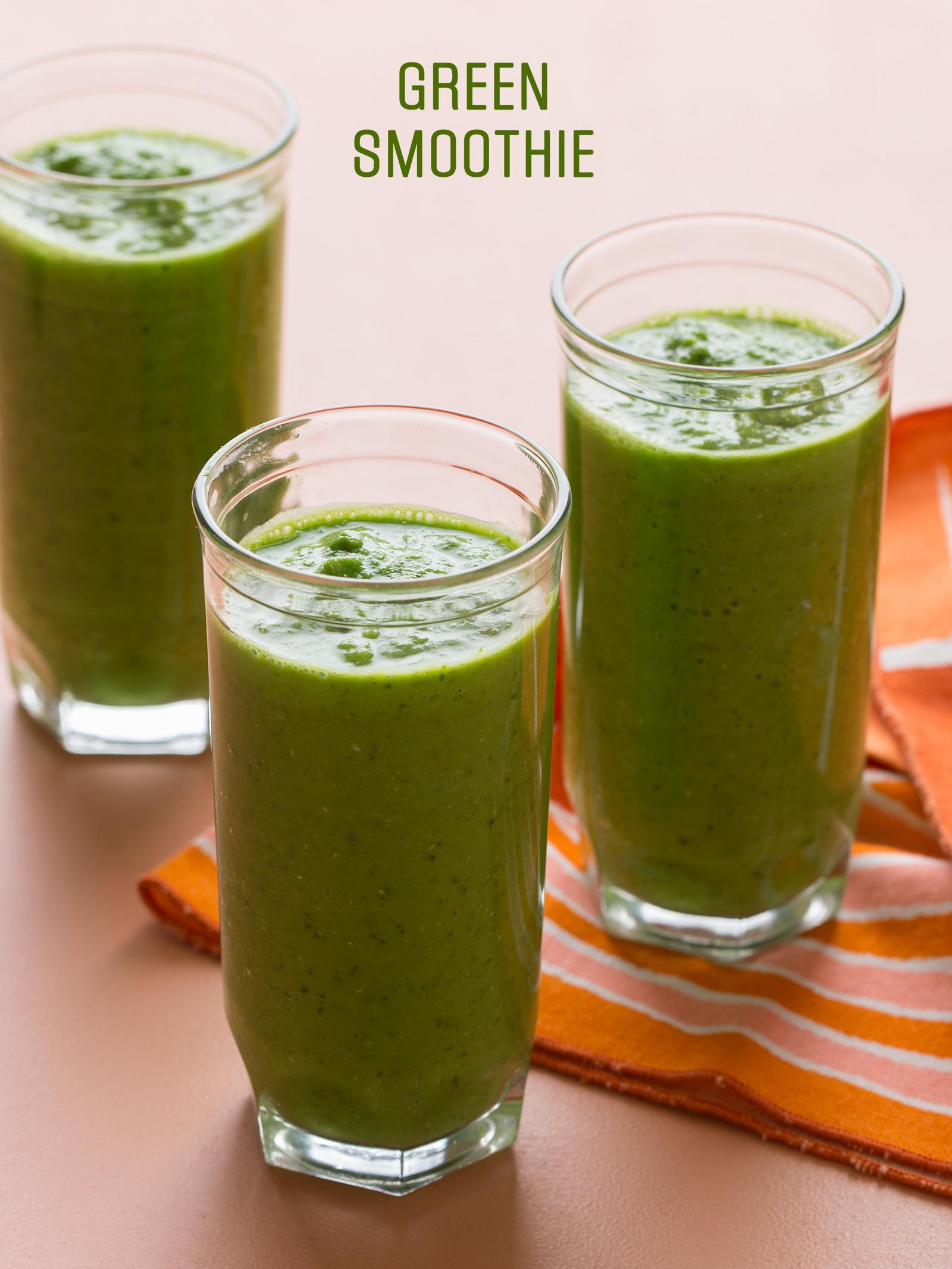 Organic Smoothie Recipes  Green Smoothie Recipe
