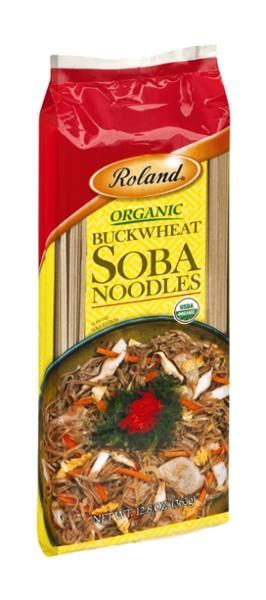 Organic Soba Noodles  Roland Organic Buckwheat Soba Noodles