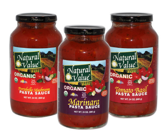Organic Spaghetti Sauce  Natural Value