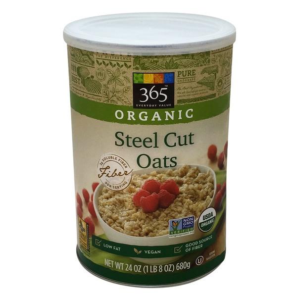 Organic Steel Cut Oats  365 Steel Cut Oats 24 oz from Whole Foods Market 365