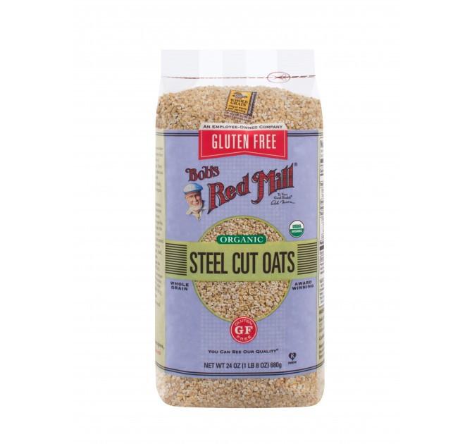 Organic Steel Cut Oats  Gluten Free Organic Steel Cut Oats