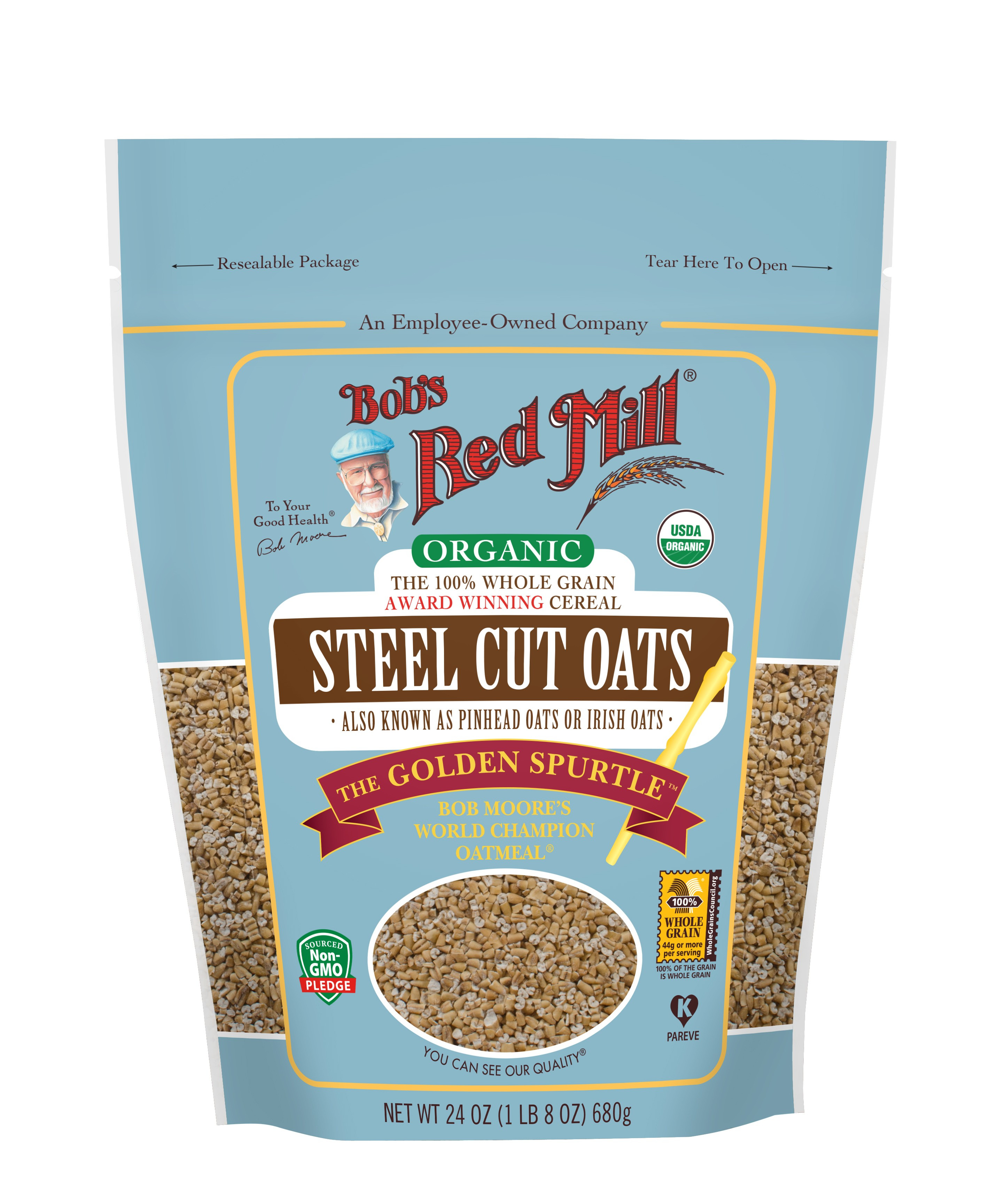 Organic Steel Cut Oats  Organic Steel Cut Oats