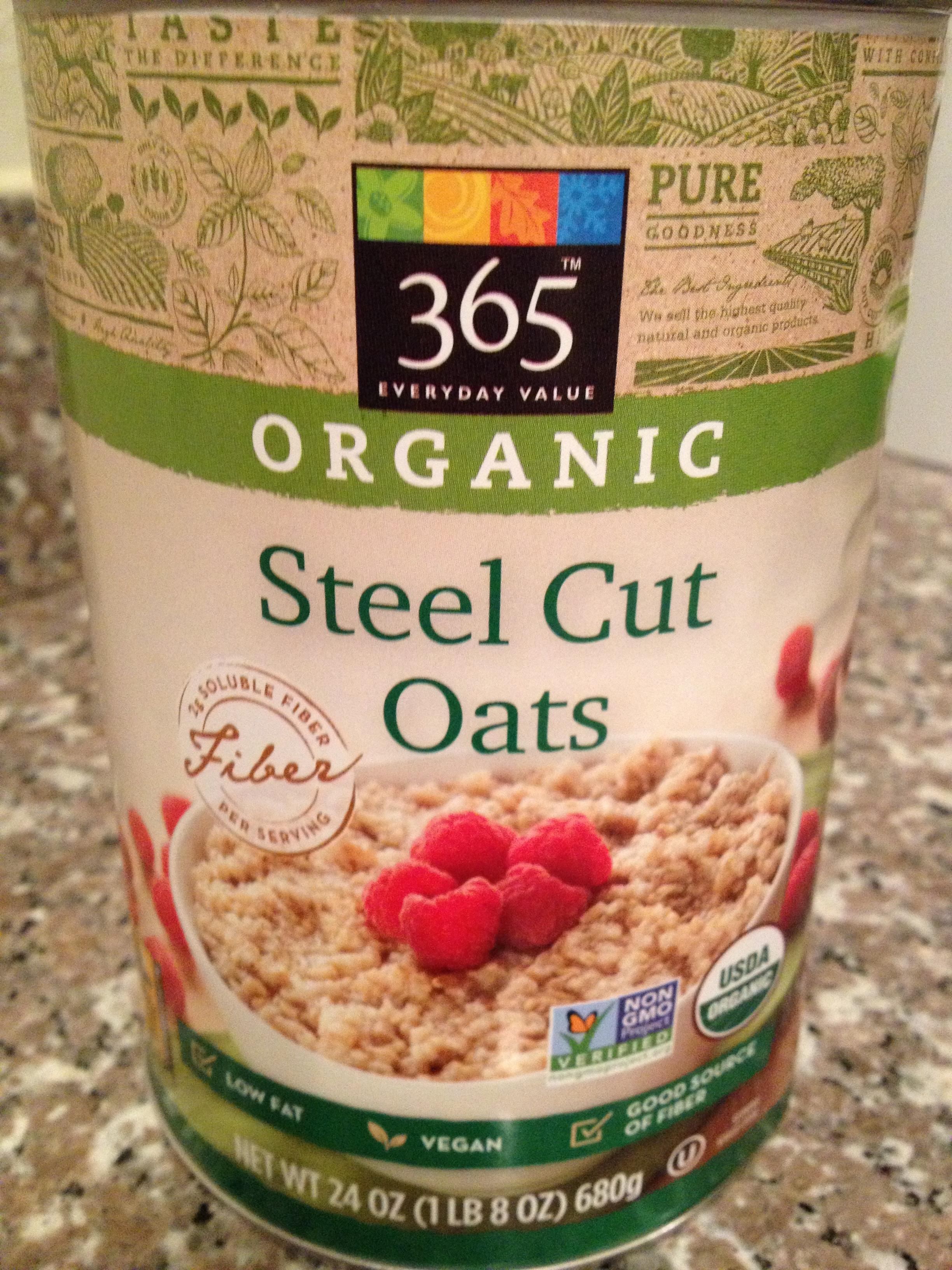 Organic Steel Cut Oats  Oatmeal Head