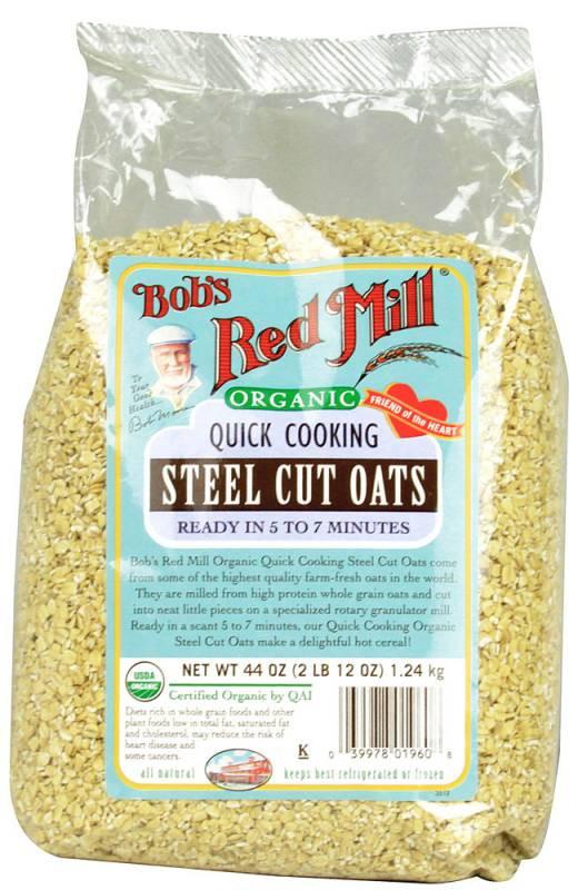 Organic Steel Cut Oats  Bob s Red Mill Organic Steel Cut Oats 24 oz 4 Pack