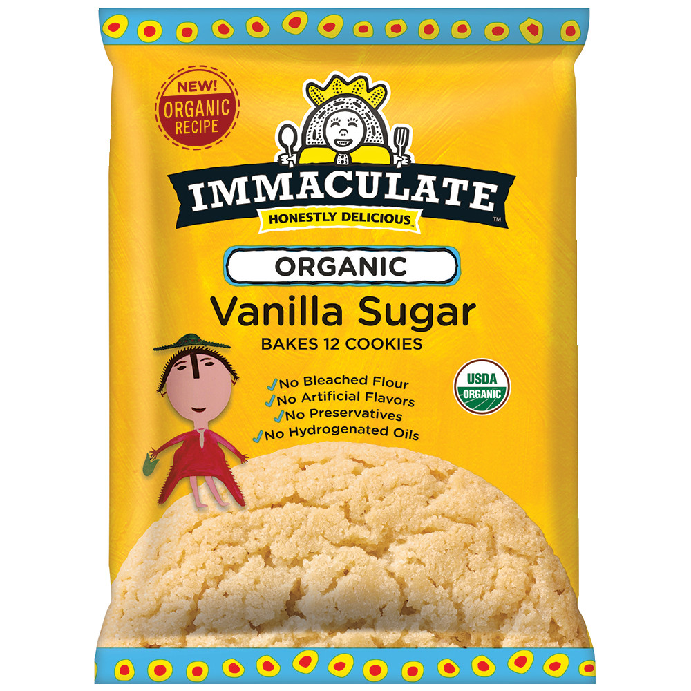 Organic Sugar Cookies  Organic Vanilla Sugar Cookie Dough