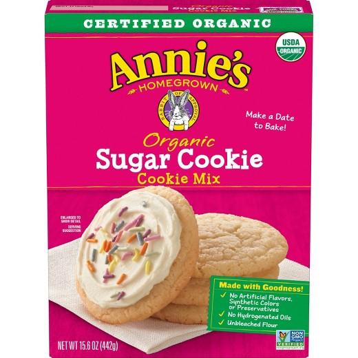 Organic Sugar Cookies  Annie s Organic Sugar Cookie Mix 15 6oz Tar