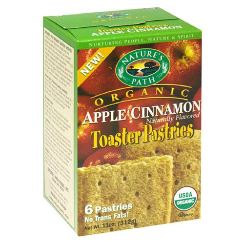 Organic Toaster Pastries  Nature s Path Organic Toaster Pastries