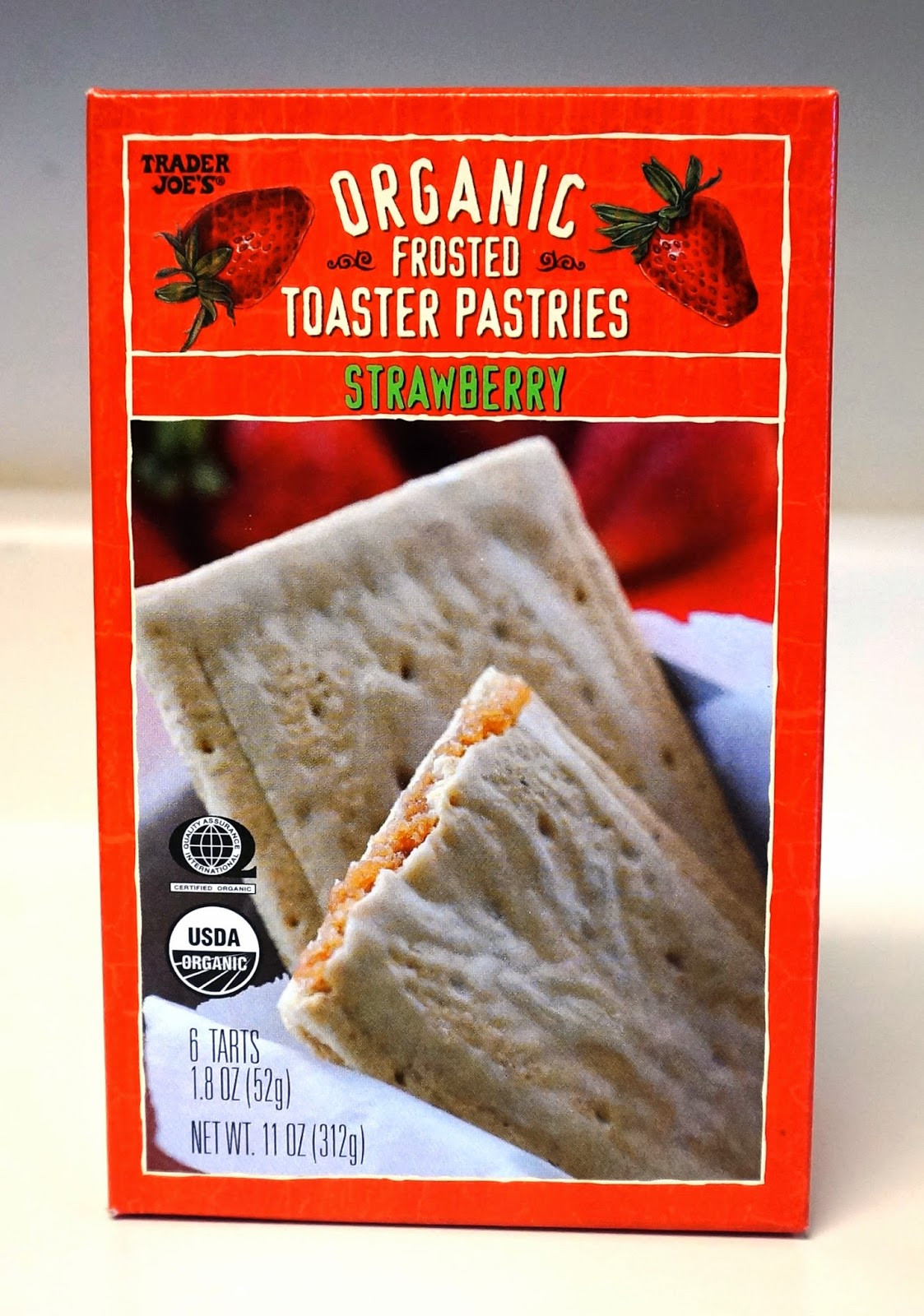 Organic Toaster Pastries  Exploring Trader Joe s Trader Joe s Organic Frosted