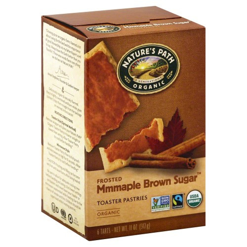 Organic Toaster Pastries  Nature s Path Organic Toaster Pastries Frosted Maple