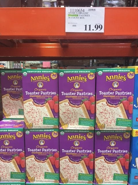 Organic Toaster Pastries  Annie's Organic Toaster Pastries at Costco – All Natural