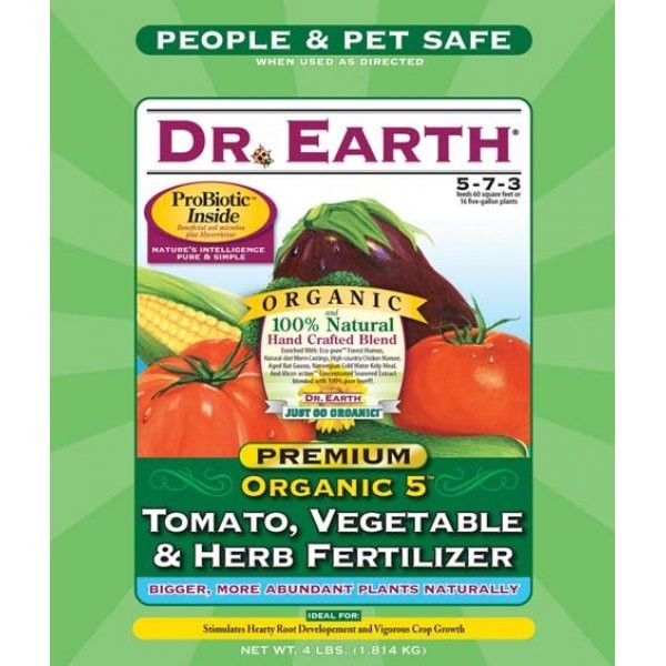 Organic Tomato Fertilizer  Organic Tomato Ve able Herb Fertilizer 4 lbs