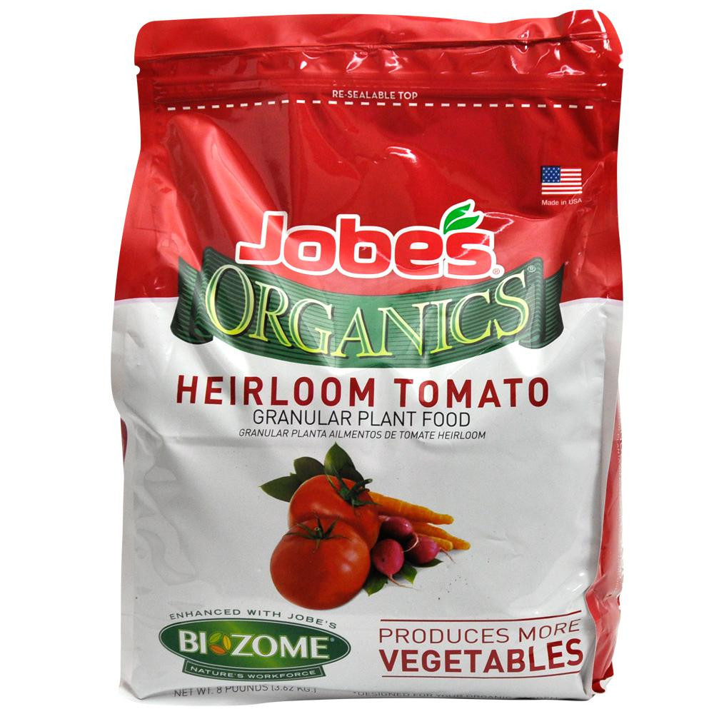 Organic Tomato Fertilizer  Organic Tomato Ve able Plant Food 8 lb Heirloom No