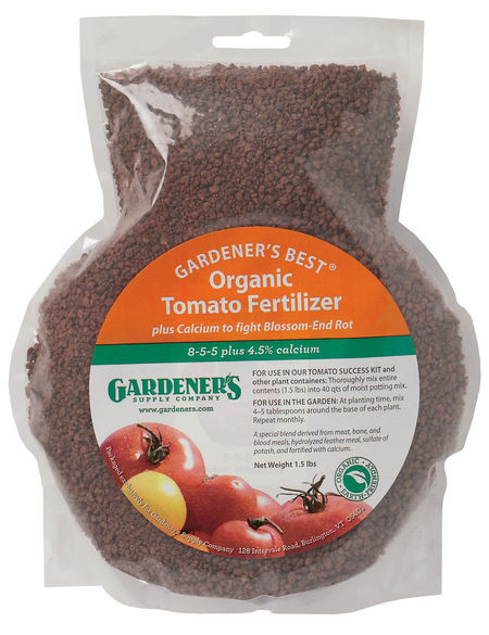 Organic Tomato Fertilizer  Gardener s Best Organic Tomato Fertilizer
