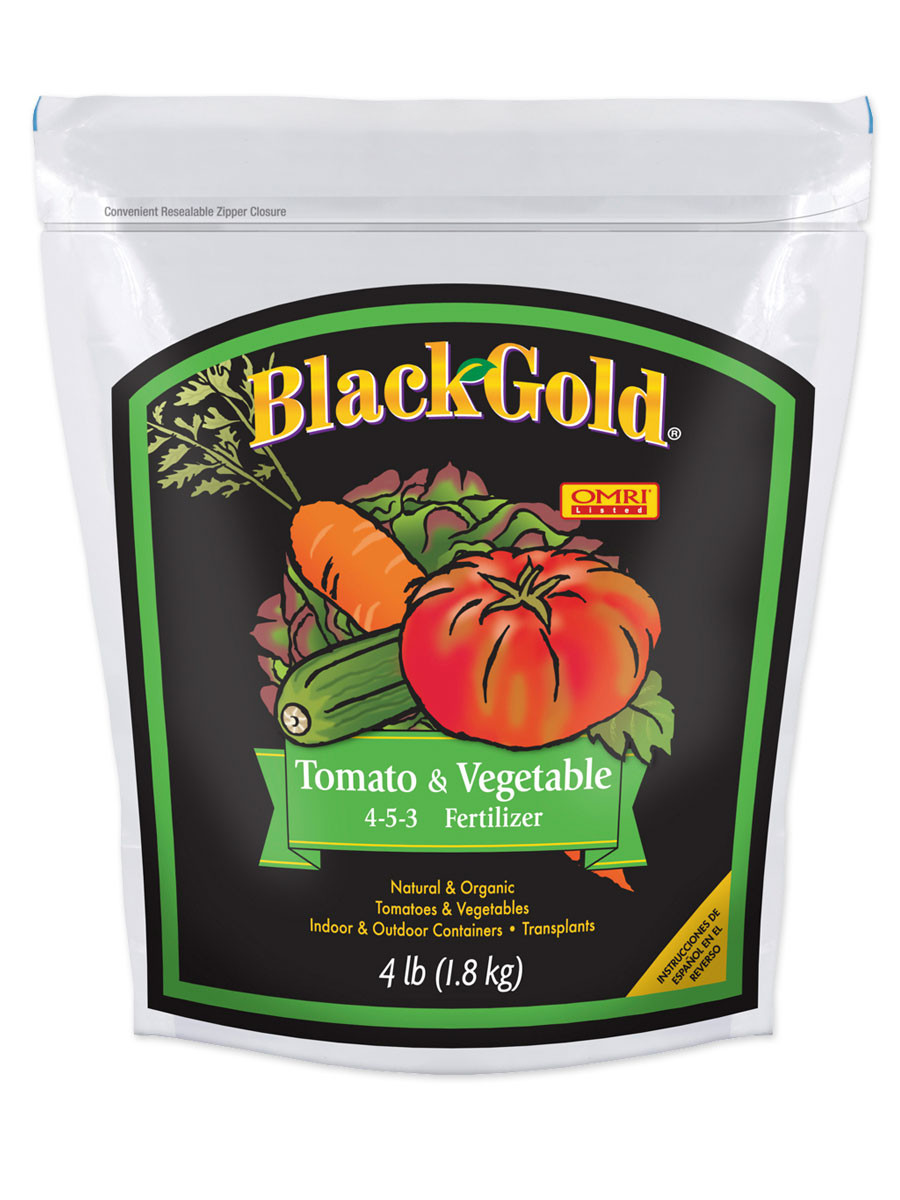 Organic Tomato Fertilizer  Black Gold Southwest Tomato Growing