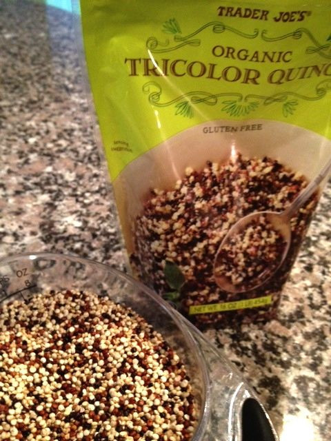 Organic Tricolor Quinoa  Cooked Tri Color Quinoa Nutrition Facts Nutrition Ftempo