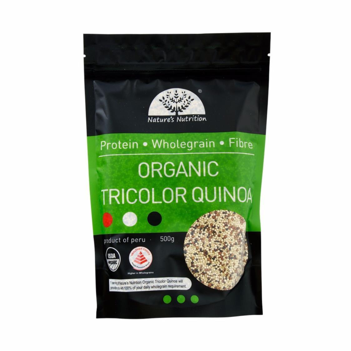 Organic Tricolor Quinoa  Metro Private Limited