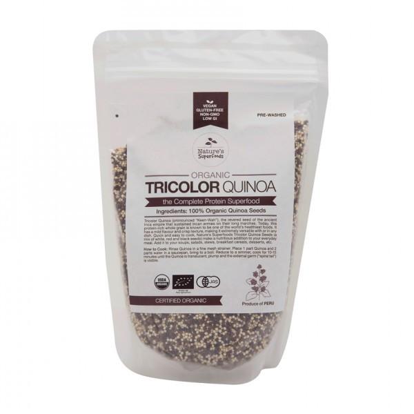 Organic Tricolor Quinoa  Nature s Superfoods Organic Tricolor Quinoa Seeds Nature s