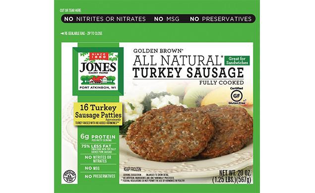 Organic Turkey Sausage  organic turkey sausage patties