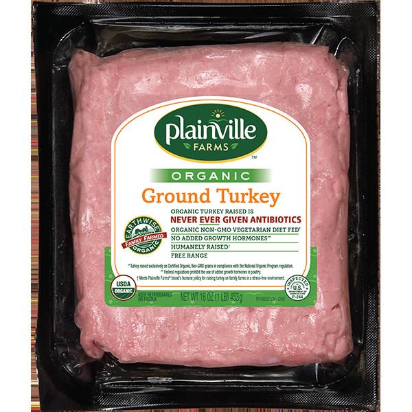 Organic Turkey Sausage  Organic Ground Turkey