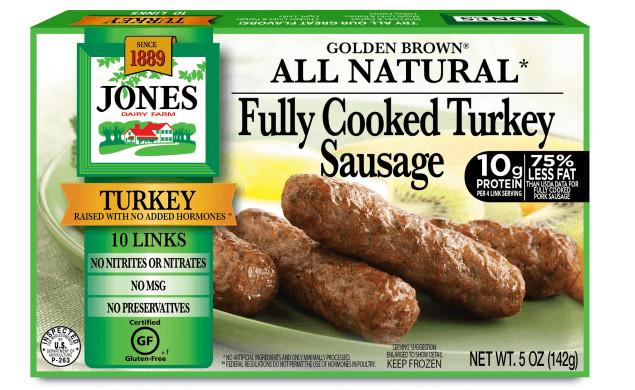 Organic Turkey Sausage  All Natural Breakfast Sausage