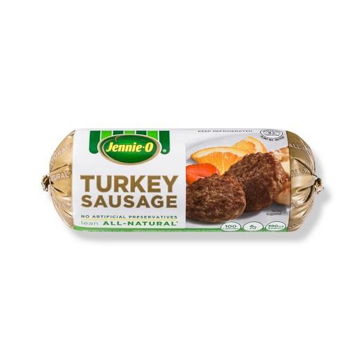 Organic Turkey Sausage  Jennie O All Natural Turkey Sausage 1 lb Tar