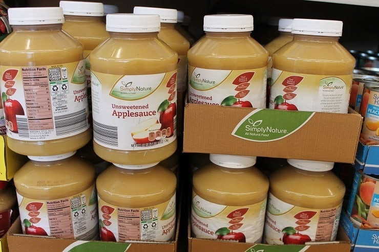 Organic Unsweetened Applesauce  Costco vs ALDI Where do I the Best Deal