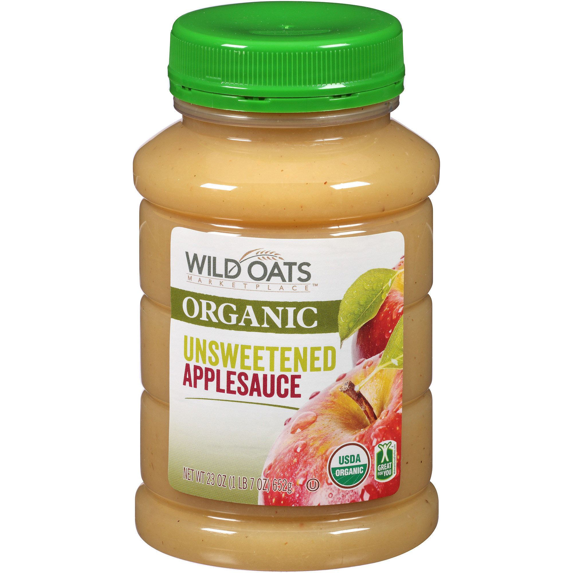 Organic Unsweetened Applesauce  Country Choice Organic Old Fashioned Oven Toasted Oats 18