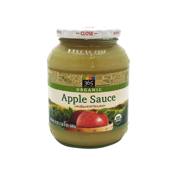 Organic Unsweetened Applesauce  Whole Foods Organic Unsweetened Applesauce